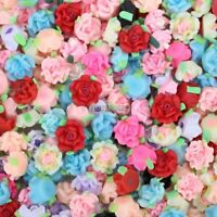 30pcs/lot Wholesale 12mm Mixed Fimo Polymer Clay Flower Loose Beads No Hole