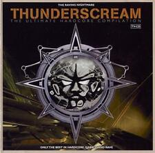 THUNDERSCREAM = Angerfist/Santana/Catscan/Promo/Buzz...= 2CD = HARDCORE GABBER