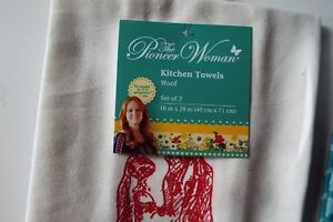 KITCHEN TOWELS INCLUDING PIONEER WOMAN