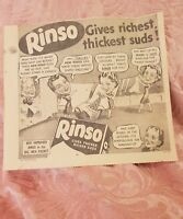 Rinso - 1940 Advertisement