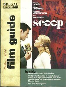 RARE - REGAL Cinema Art Film Guide - 2006 - Scarlett Johansson - Scoop - Volver