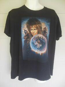 Vintage David Bowie LABYRINTH Movie T Shirt sz XL ~AS IS~