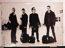 """U 2 Beautiful day At Airport Vintage Poster 24.25"""" X 34"""" Nos (b305)"""