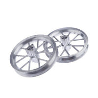 Pair Rear and Front Wheel Spokes Hub Rim for 49CC Mini Ricing Dirt Bike ATV