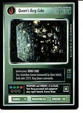 STAR TREK CCG FIRST CONTACT RARE CARD QUEEN'S BORG CUBE