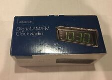 Insignia Digital AM/FM Alarm Clock Radio - Large LED Display