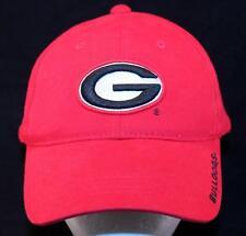 MEN'S University of Georgia Bulldogs Football Starter Red Sport Baseball Hat Cap