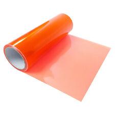 Scheinwerfer Rückleuchten Folie 20€/m² Blinker 30x100cm selbstklebend Orange