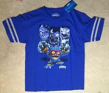 Skylanders Boys Blue Cotton Shirt - Size XL - NEW