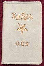 Holy Bible Order of the Eastern Star Freemasons Waitsburg WA Chapter No. 9 OES