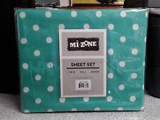 Mi Zone Sheet Set Twin Seafoam