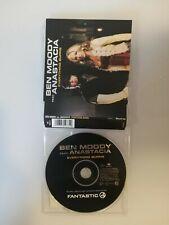 BEN MOODY FEAT ANASTACIA - EVERYTHING BURNS  - 4 TRACKS  CD