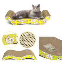 Sofa Design Cat Scratching Corrugated Board Toy Scratcher Bed Pad For Pet Cats