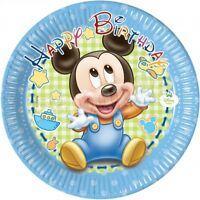 Baby Micky Maus Eßbar Tortenaufleger Geburtstag Party Deko Tortenbild dvd neu