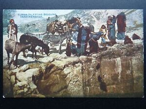 ?Palestine Judea BEDOUINS DRAWING WATER c1930 Postcard by Photochrom