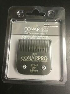 Conair Pro Pet Clipper Size 4F Steel Replacement Blade 9.5mm #1542