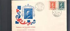 italia 1959 Busta Primo Giorno centenario francobolli di sicilia  bu.097