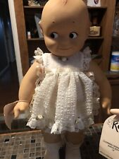 """Vintage Toy Original Cameo 15"""" Kewpie Posable Doll Dated 11-7-67."""
