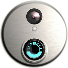 SkyBell HD Wi-Fi 1080p Video Doorbell - Silver (SH02300SL)
