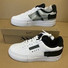 Nike Air Force 1 Type White Volt Black Gr. 44 US 10 ✅ Neu New AT7859-101