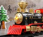 Electric Classical Train Sets With Steam Locomotive Engine Cargo  Assembly Kids