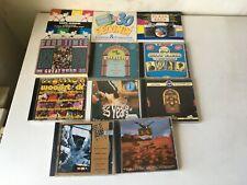 10 CDs und 1 DoCD Oldies Compilations u.a. Woodstock Repertoire 50er 60er 70er