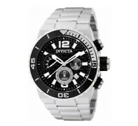 Invicta Men's Watch Pro Diver Chronograph Black & Silver Tone Dial Bracelet 1341