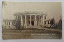 East Side Grammar School SELMA CALIFORNIA RPPC Real Photo Postcard c.1912;I278