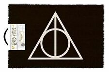 Official Harry Potter Dealthy Hallows Welcome Door Mat Official Licensed Coir