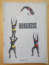 1954-IL BORGHESE-Direttore LEO LONGANESI-Anno V, Numero 22