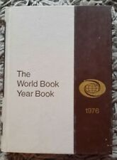 Vintage World Book Encyclopedia ~ 1976 Year Book ~ Events of 1975