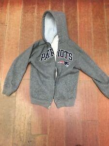 New England Patriots  Full Zip Jacket Hoodie