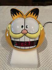 Vintage 1991 Garfield Alarm Clock Sunbeam Sound Model 887-109