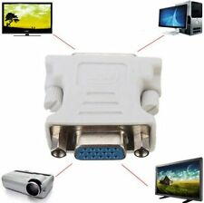 Female 15-Pin VGA to 24+1Male DVI-D Digital DVD Player Interface Adapter