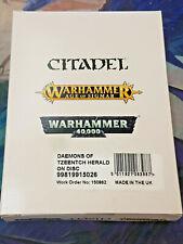 Fluxmaster, Herald of Tzeentch Daemons of Tzeentch Warhammer 40k 40,000 Games Ne