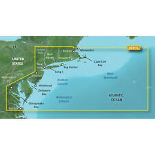 Garmin BlueChart g2 Vision Vus511L Boston Ny Harbor Chesapeake Bay on microSd/Sd