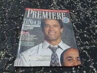 JAN 1989 PREMIERE movie magazine ARNOLD SCHWARZENEGGER