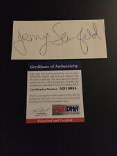 Jerry Seinfeld Signed Cut Signature Comedian PSA AD10985