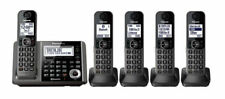 Panasonic KX-TG585SK Link2Cell Dect 6.0 plus Cordless 5 handset Phone System  B1