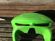 KAWASAKI ZX6R  TOP  FAIRING FILLED IN HEADLIGHT IN GREEN (see pictures)