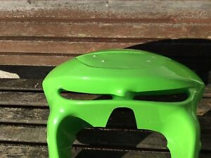 KAWASAKI ZX6R 98-99  TOP  FAIRING FILLED IN HEADLIGHT IN GREEN (see pictures)