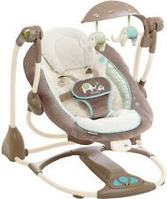 BRIGHT STARTS INGENUITY SAHARA CONVERTME SWING BABY BOUNCER CHAIR 2-SEAT
