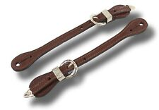 Royal King Western Medium Oil Spur Straps with Silver Buckles 78-3646