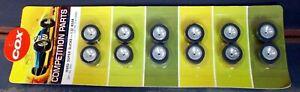 COX 1/32 3374 HARD SUPER SLICKS - REAR  (SIX PAIRS) NEW OLD STOCK