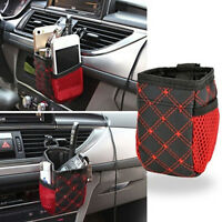 Hot Travel Auto Car Air Storage Box Mobile Phone Pocket Bag Organizer Holder TO
