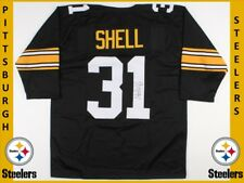 Donnie Shell signed #31 PITTSBURGH STEELERS black jersey w/TSE COA- XL