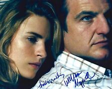 Brit Marling & William Mapother signed 8x10 Photo - In Person Proof