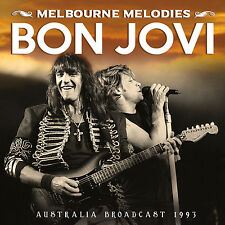 BON JOVI New Sealed 2018 UNRELEASED LIVE 1993 AUSTRALIA CONCERT CD