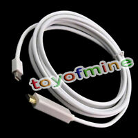 3m 10ft Thunderbolt mini Displayport DP a HDMI  video Cable Apple MacBook iMac P