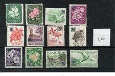 Norfolk Island (10) - Elizabeth 1966 - Definitive set 12 values  Mint SG Cat £12